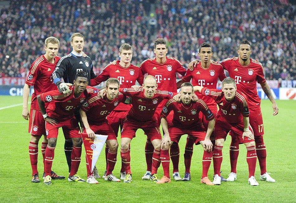 Фото футбольной команды бавария мюнхен